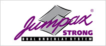 Jumpax Strong met Greenfloor logo