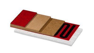 Jumpax® Heat Isolator is zeer geschikt als isolator voor koude vloeren en voor gebruik met elektrische vloerverwarming.