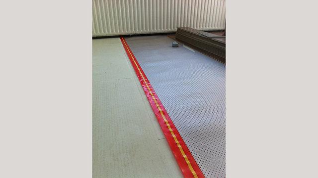 Jumpax® CP gecombineerd met Heat-foil® en Click laminaat