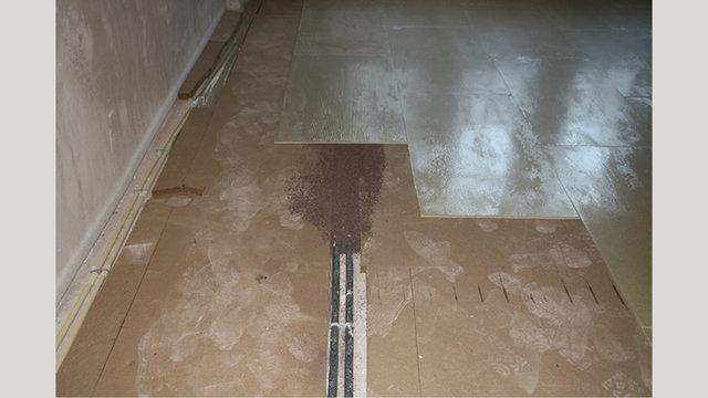 contactgeluidreductie, wegwerken leidingen, stabiele en vlakke ondervloer