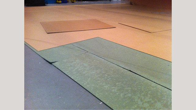 Tijdelijke vloer met Marathon® Dual