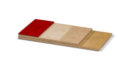 Perfect egaliserende ondervloer voor PVC stroken, linoleum, vinyl en tapijt voor zwaarder projectgebruik