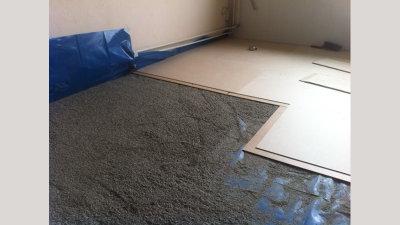 Ecopearls® voor het waterpas maken van de ondergrond