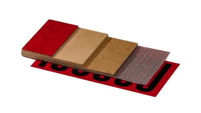 Fast-track overlay system for all types of floor heating